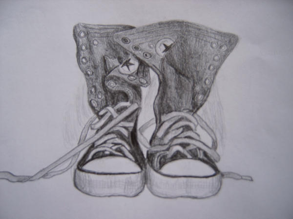 Converse Shoes by Eliottchaos