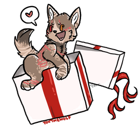 ych prize by ToxTheWolf