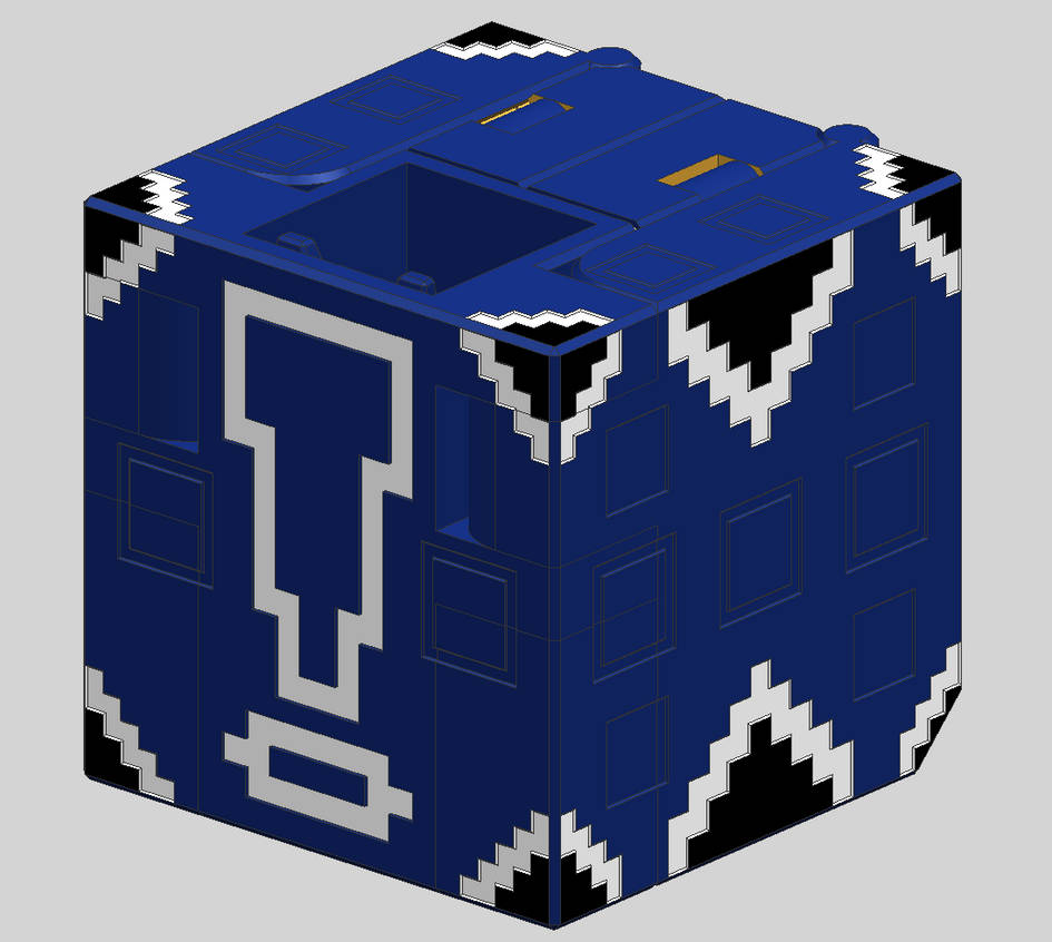 Cube Komori V3 - Cube Mode by Quester-dragon on DeviantArt