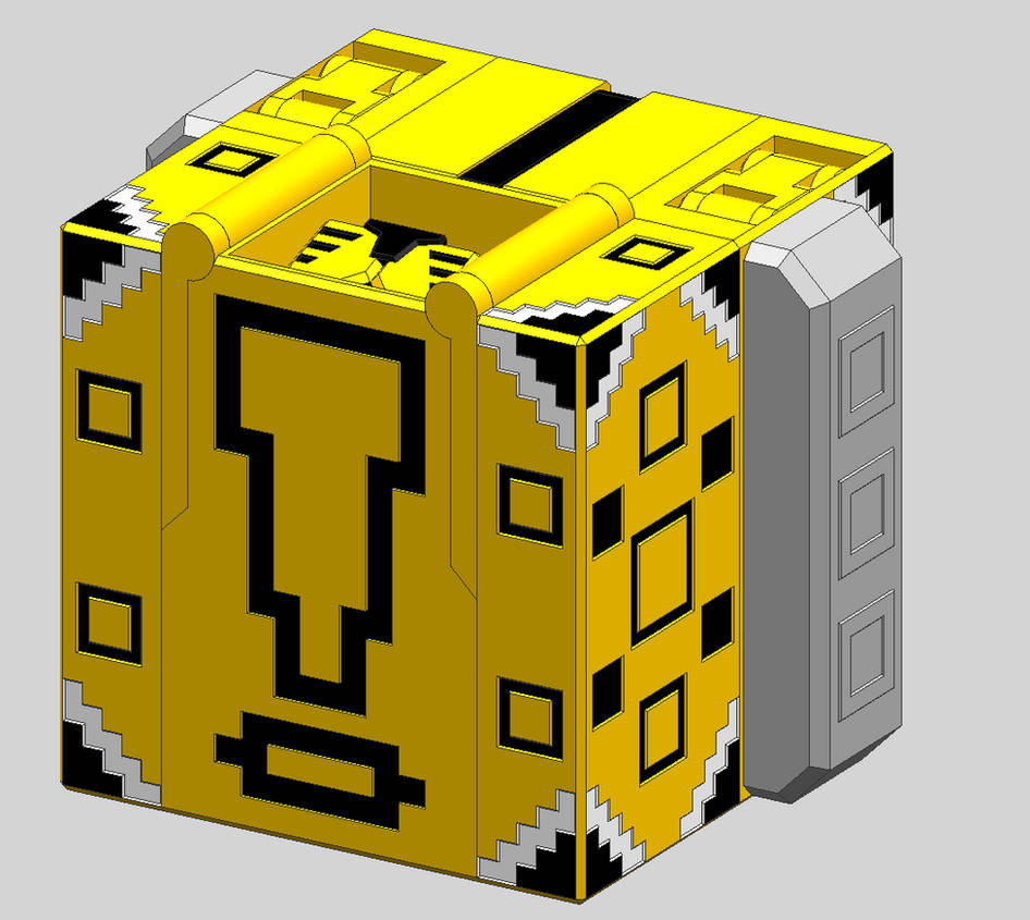 Cube Hyou V3 - Cube Mode by Quester-dragon on DeviantArt