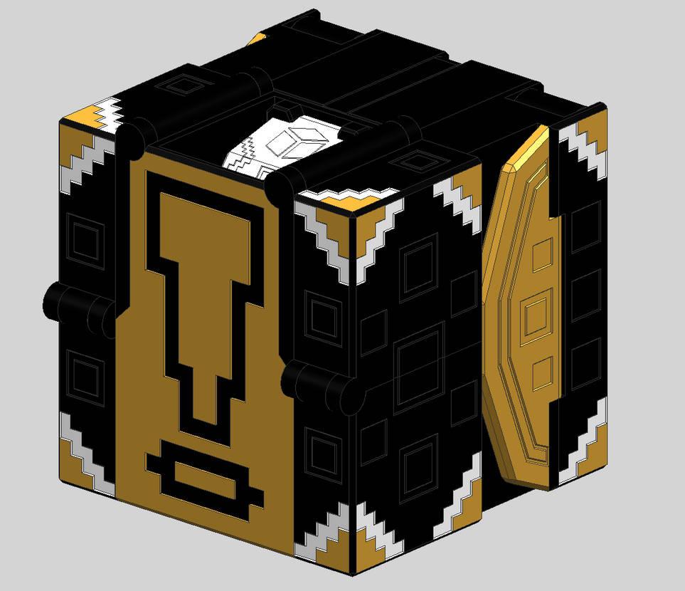 Cube Panda V3 - Cube Mode by Quester-dragon on DeviantArt