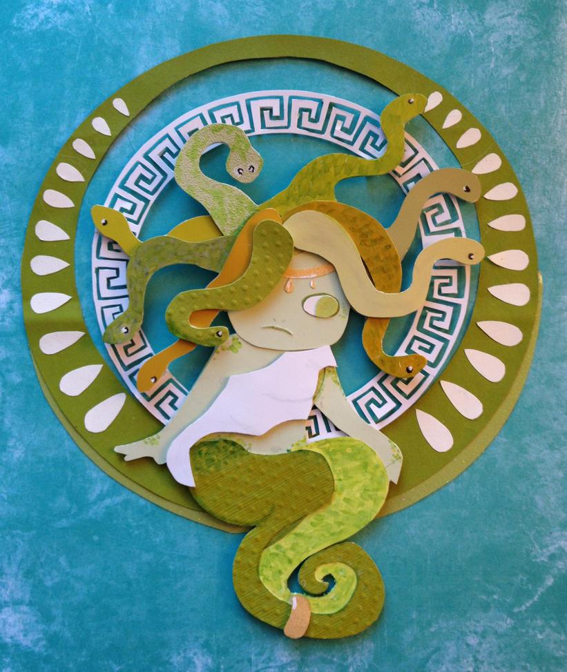 Liz Leonard's 'Medusa' in paper by Eotena