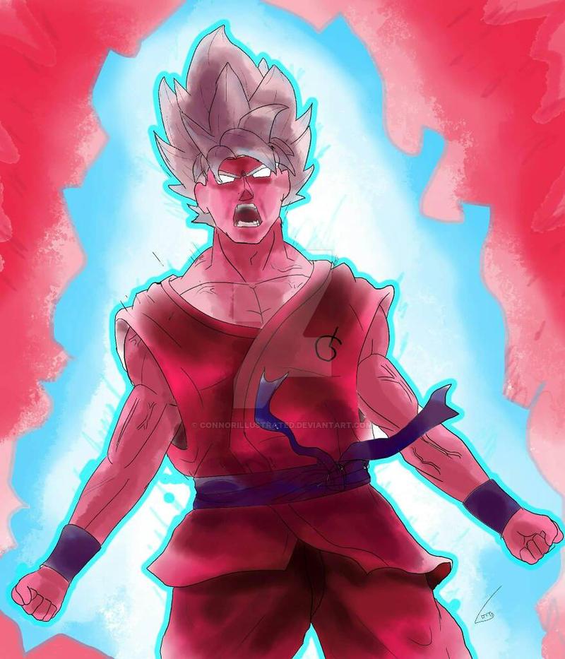 SSB Gogeta Recolor SSB Kaioken By XxExtremeSamX Goku