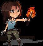 Lara Croft Chibi