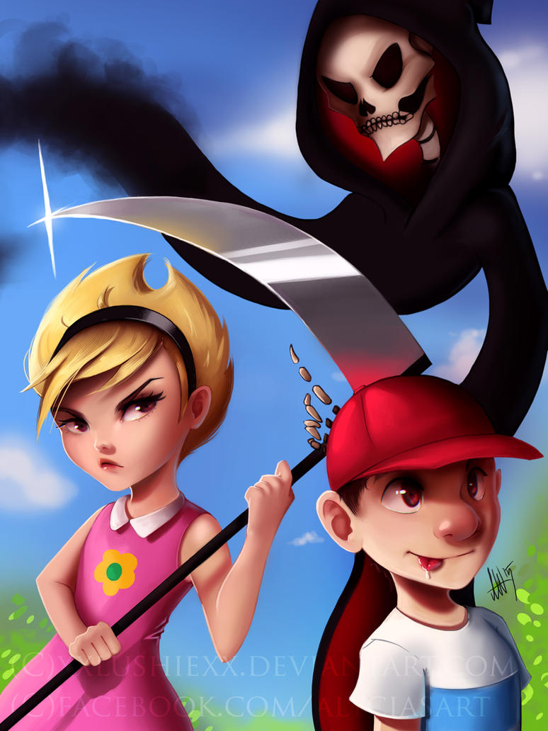 The Grim Adventures of Billy and Mandy by Lushies-Art on DeviantArt
