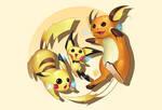Pichu | Pikachu | Raichu