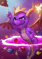 Spyro REMASTER by Lushies-Art