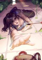 Lara Croft by Lushies-Art