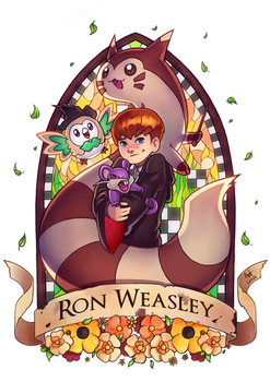 Pottermon: Ron Weasely