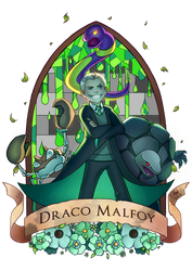 Pottermon: Draco Malfoy by Lushies-Art