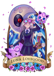 Pottermon: Luna Lovegood by Lushies-Art