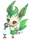 Animal Crossing Leafeon   Charity Collab!