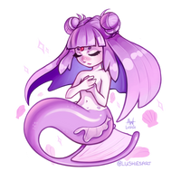 Espeon Mermaid