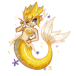 Jolteon Mermaid