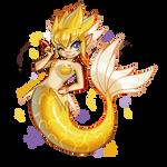 Jolteon Mermaid