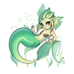 Leafeon Mermaid
