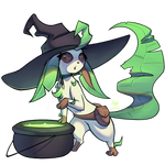 Witch Leafeon | Charity Collab!