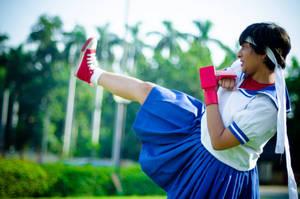 Sakura Street Fighter Cosplay