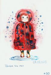 Under the rain by Borianna