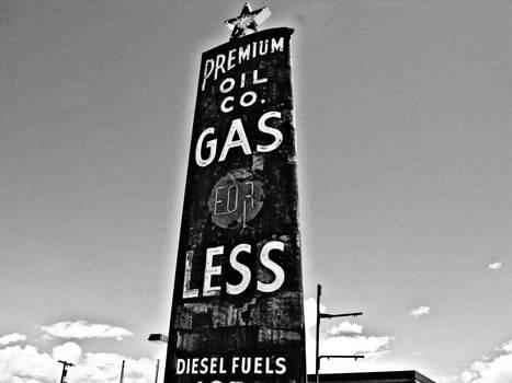 Green River Utah Gas Station