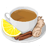 Tea with lemon, ginger and cinamon by MarlaKinky