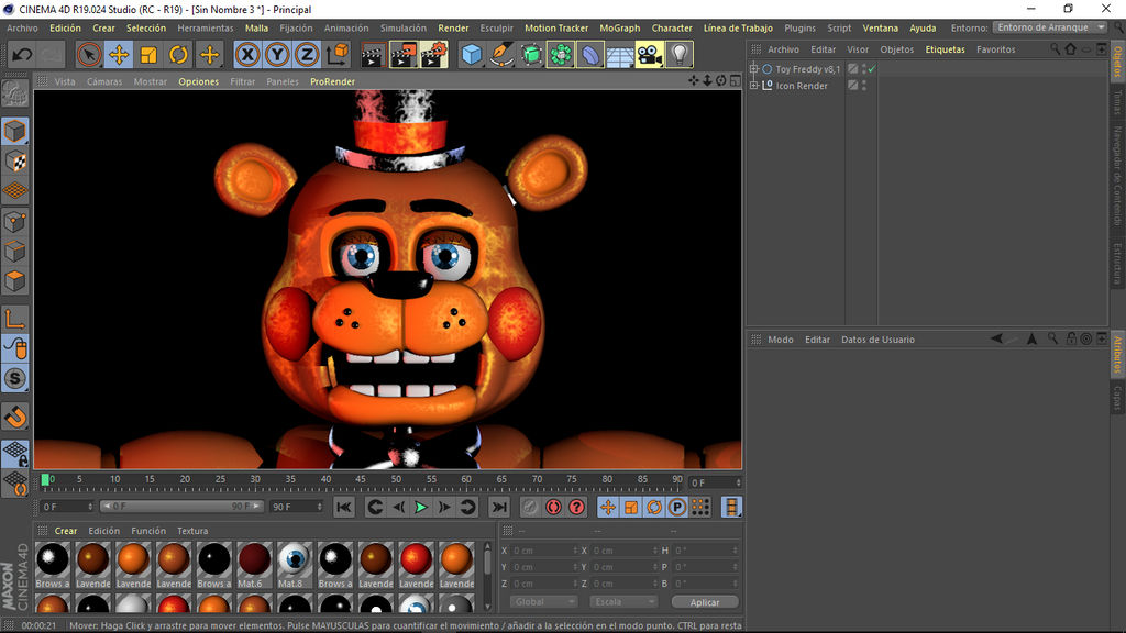 toy freddy v8 1 C4D/FNAF by matias124536253 on DeviantArt