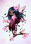 Cherry Blossom Fairy colo