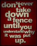 Dont take it down...
