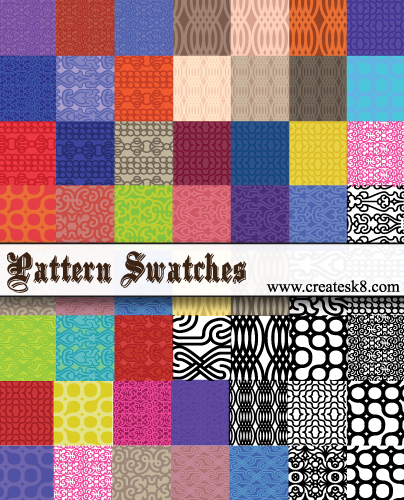 54 Pattern Swatches