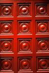 Red Sphere Door