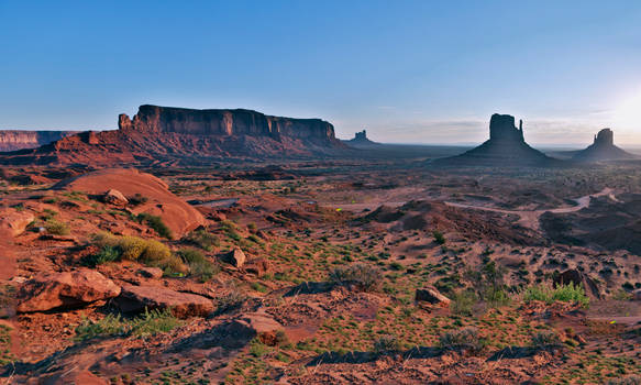 Monument Valley Rising