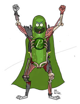 A Caped Pickle