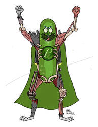 A Caped Pickle by namespace