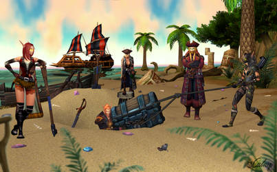 Treasure hunt! by oCatnip