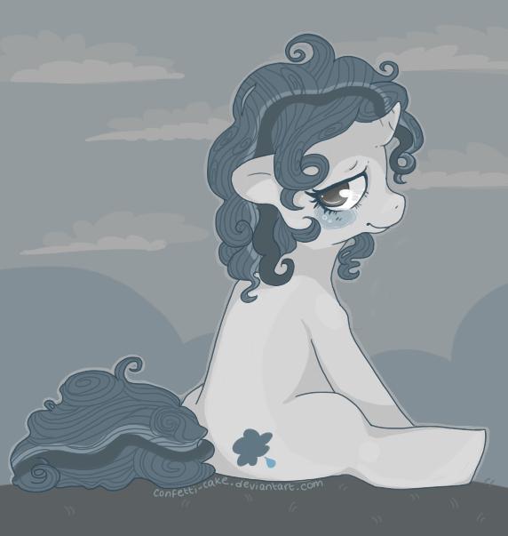 Prozac Pony. by confetti-cake