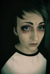 Make up by RainbowTigerPaws