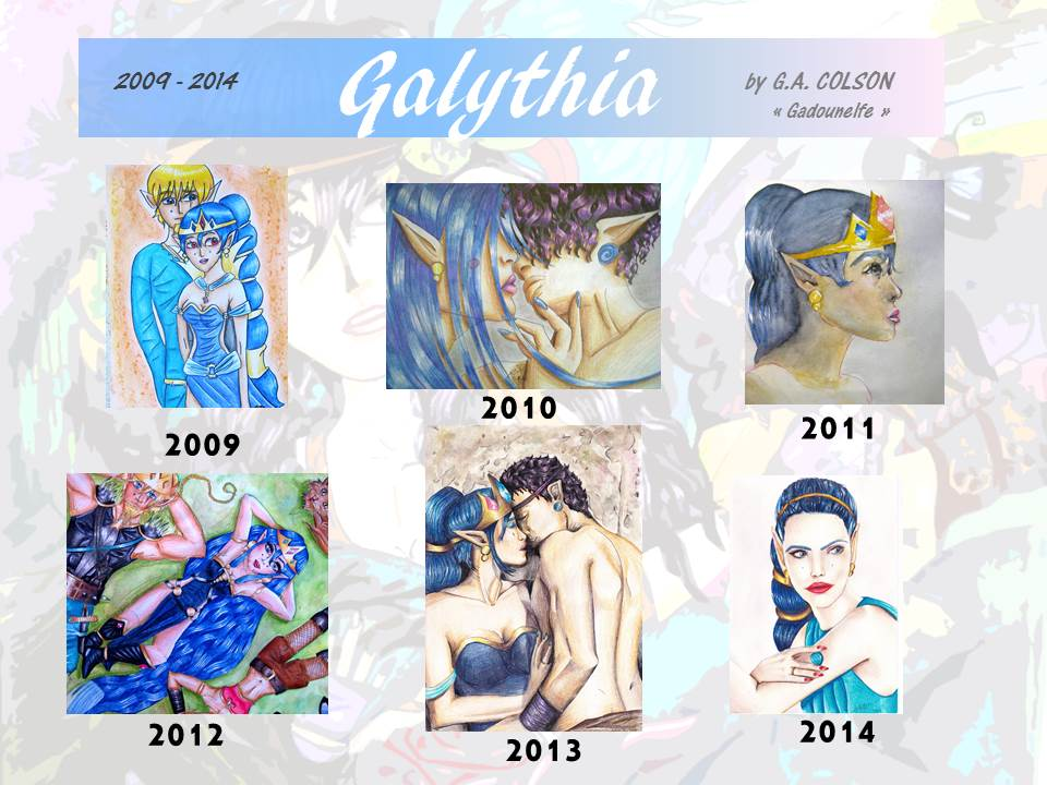 Galythia evolution... by gadounelfe