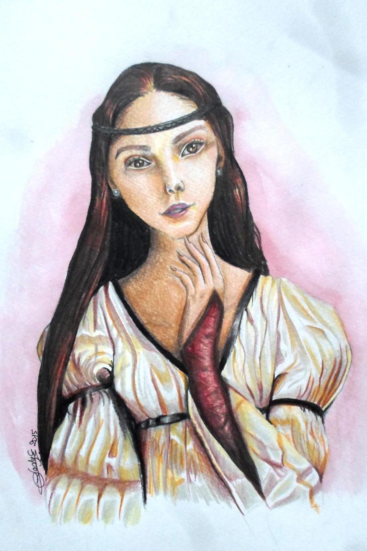 Violette de Beuvingon by gadounelfe