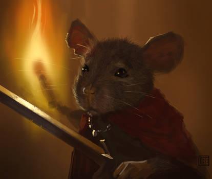 Fearless Rat (30 minutes speedpainting)