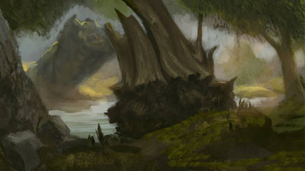 Speed painting environment