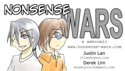 Nonsense Wars Business Card