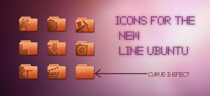 new ubuntu icons by Ray-TM