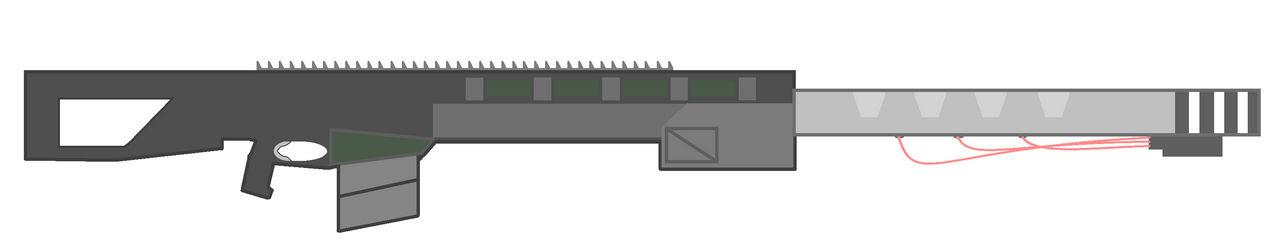 Generation Zero Experimental .50 Caliber Rifle