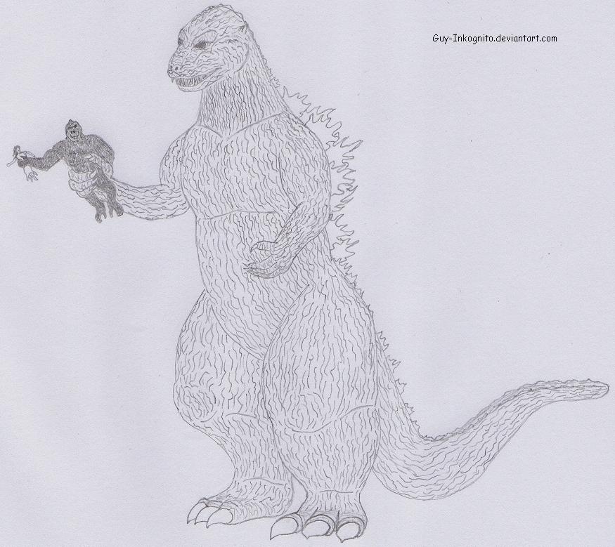 King Kong vs Godzilla by Guy-Inkognito on DeviantArt