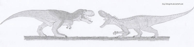 V rex vs I rex