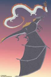 Asian Dragon vs European Dragon remake