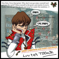 Happy Holidays frum teh Kaiba by chaokiller