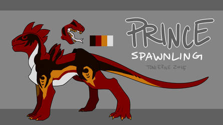 Prince Spawnling Reference by orewatowi