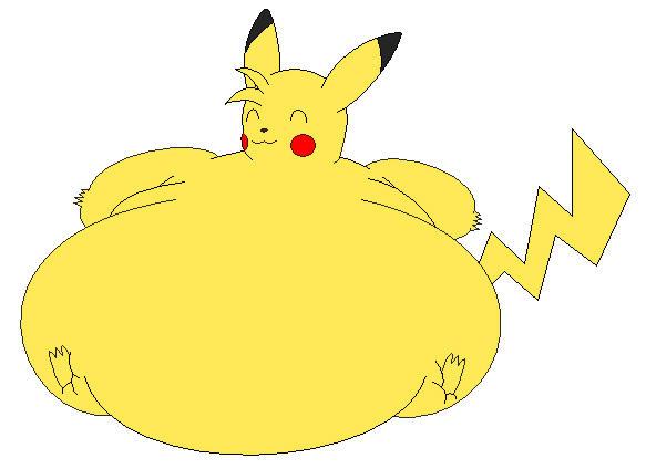 Flabby Pikachu by MacSilverD