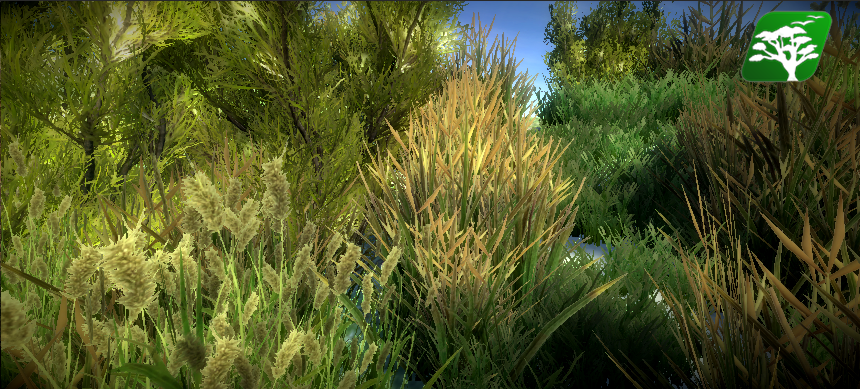 Realistic Grass and Bush Pack1 by RakshiGames
